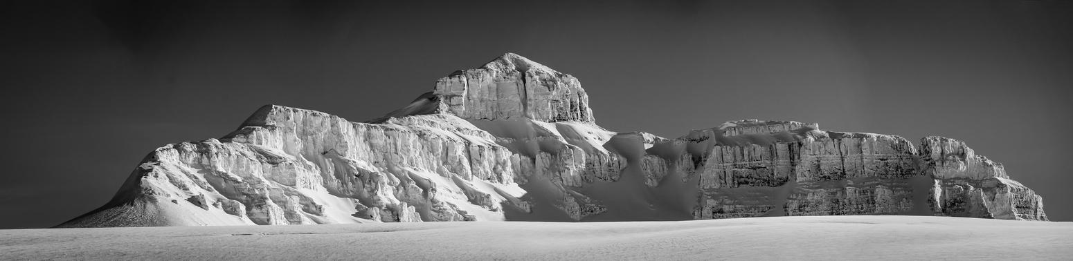 Castleguard Mountain.