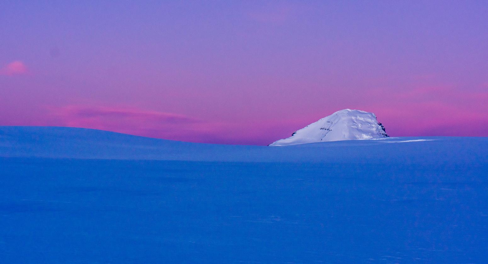 Mount Columbia at sunrise.