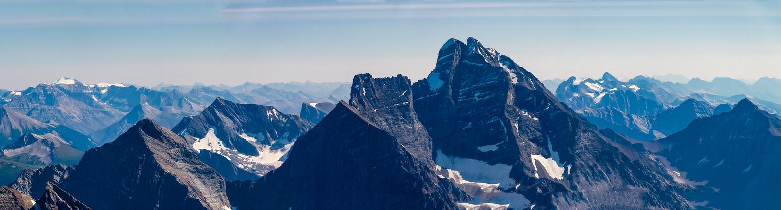 Ennis, Teepee and Mount Goodsir.