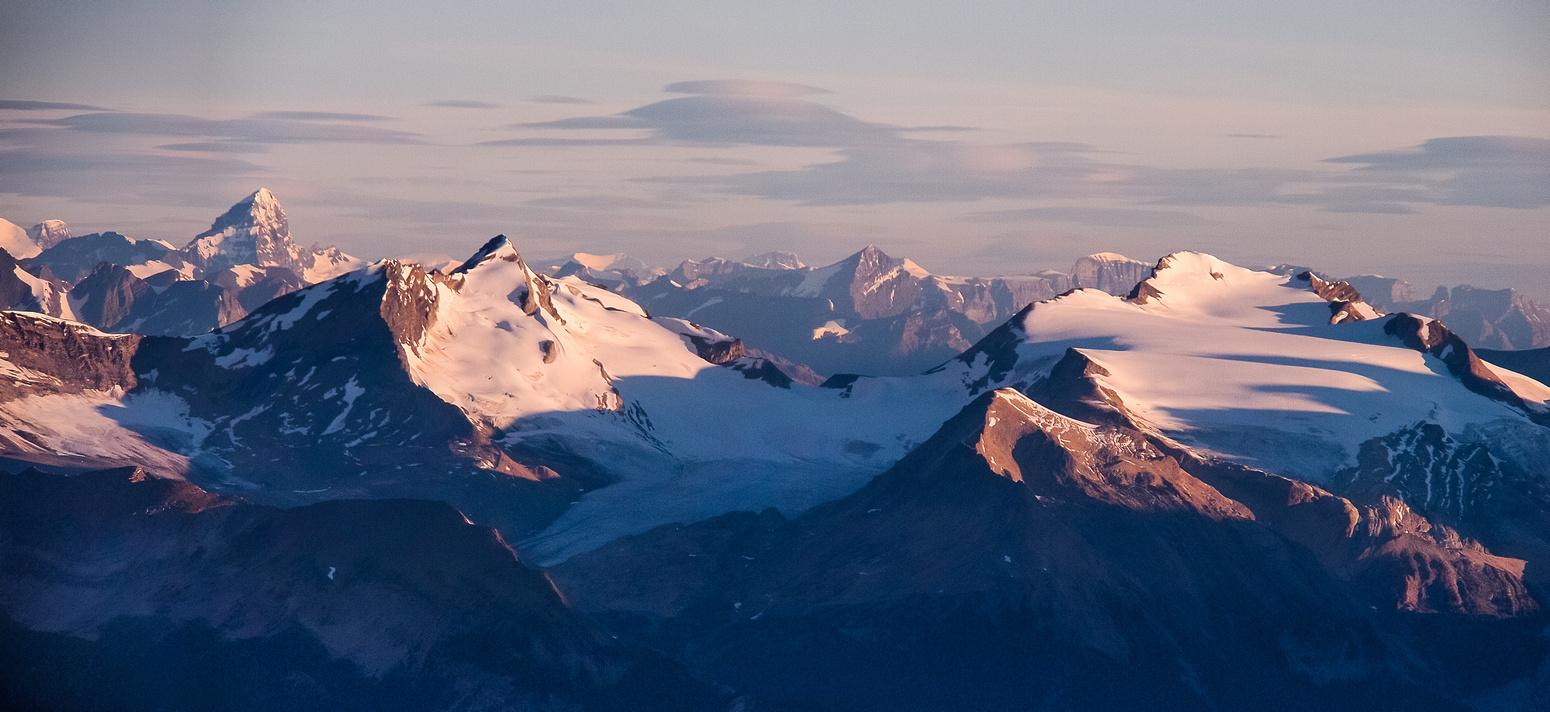 Forbes, des Poilus, Yoho and Mount Collie.