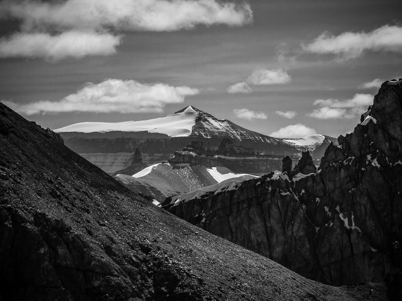 Mount Amery is another peak that was rumored to be 11,000 feet but Eric and I conclusively proved it is shy of that mark in 2012.