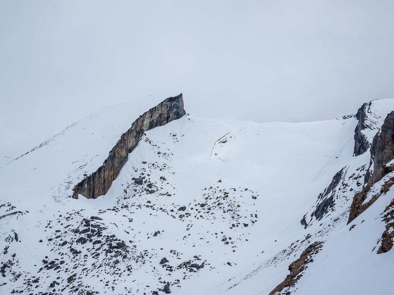 Ramp Peak is a great ski objective!