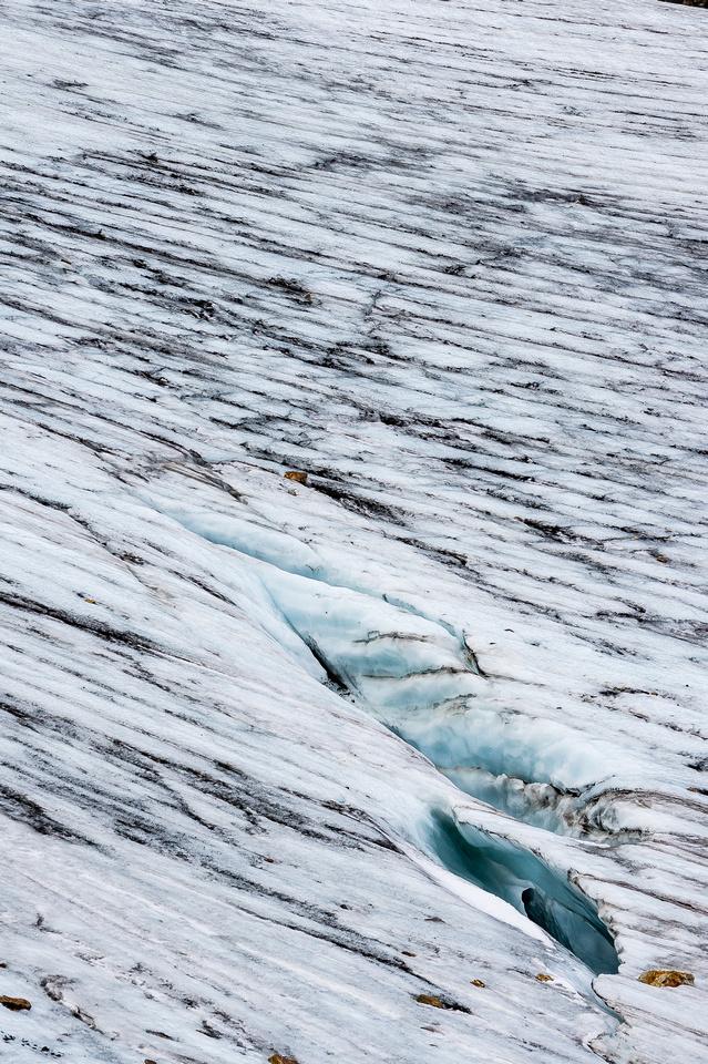 Glacier patterns.