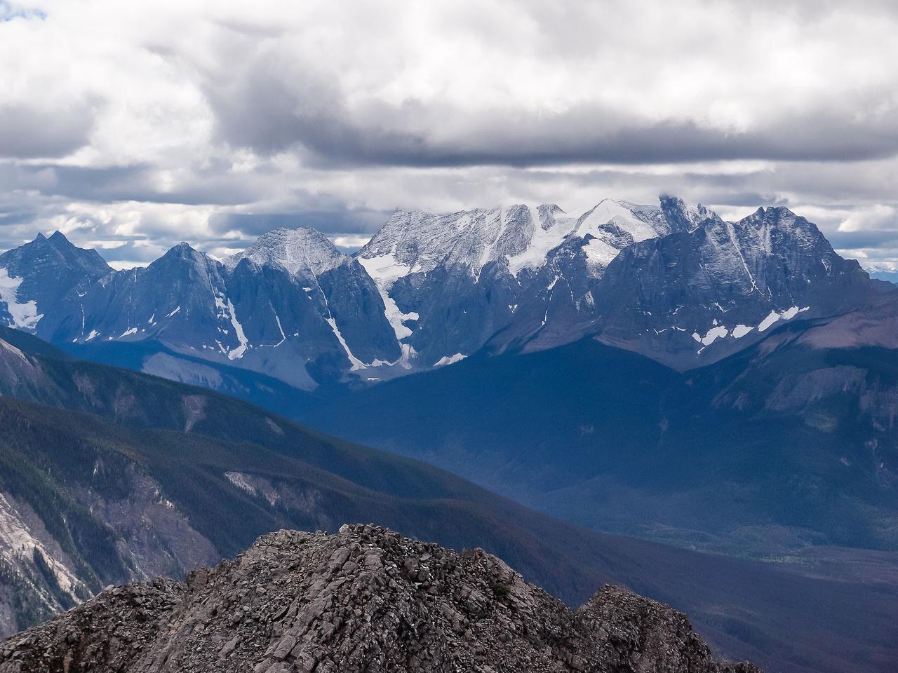 Looking towards Mount Vaux.