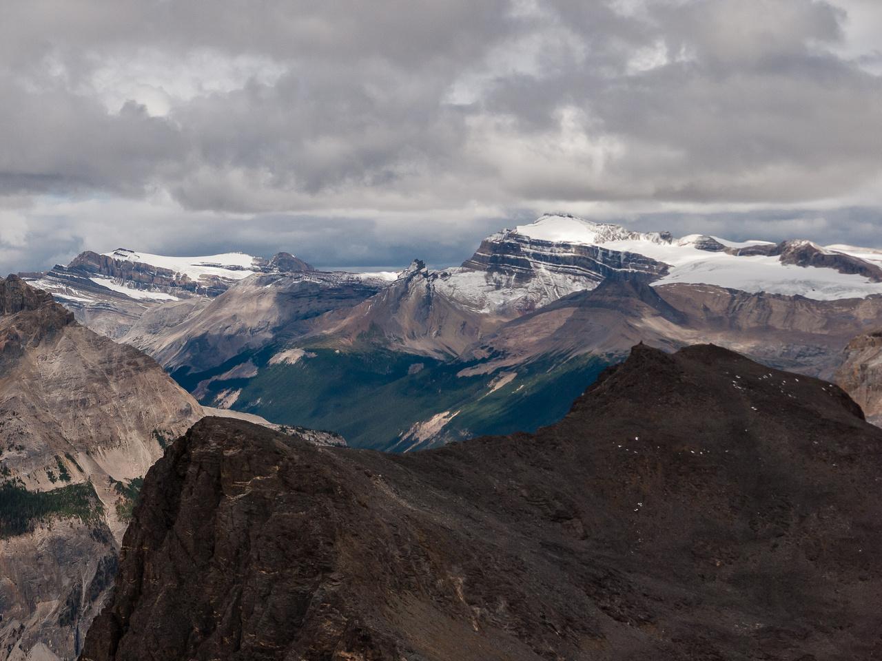 Mount Gordon and Balfour.