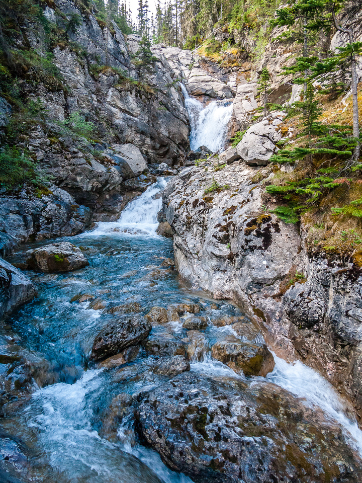 A gorgeous creek between O'Hagan and Utopia.