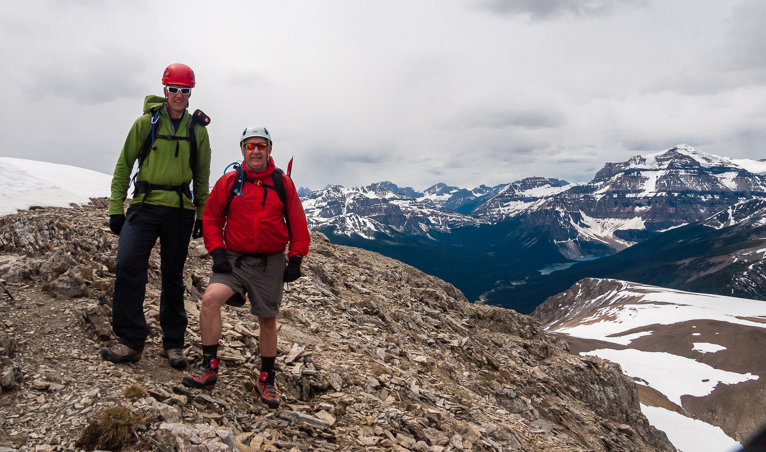 Vern and Bill on Copper Mountain.