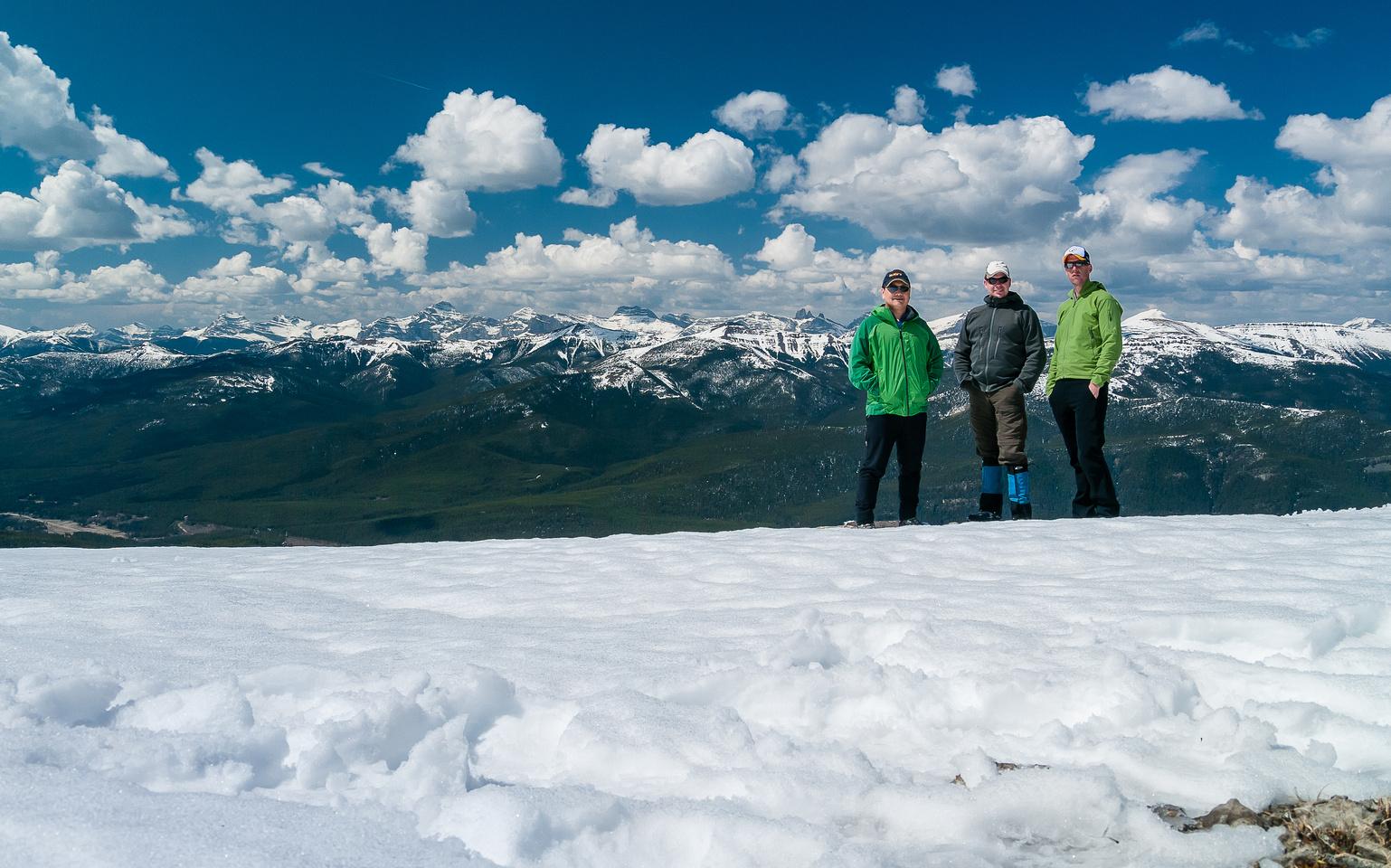 Summit of Mount Speke.