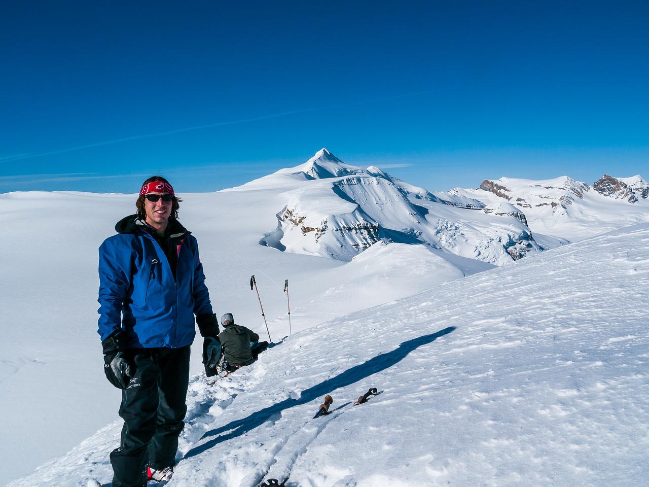 TJ on the summit of Lilliput.