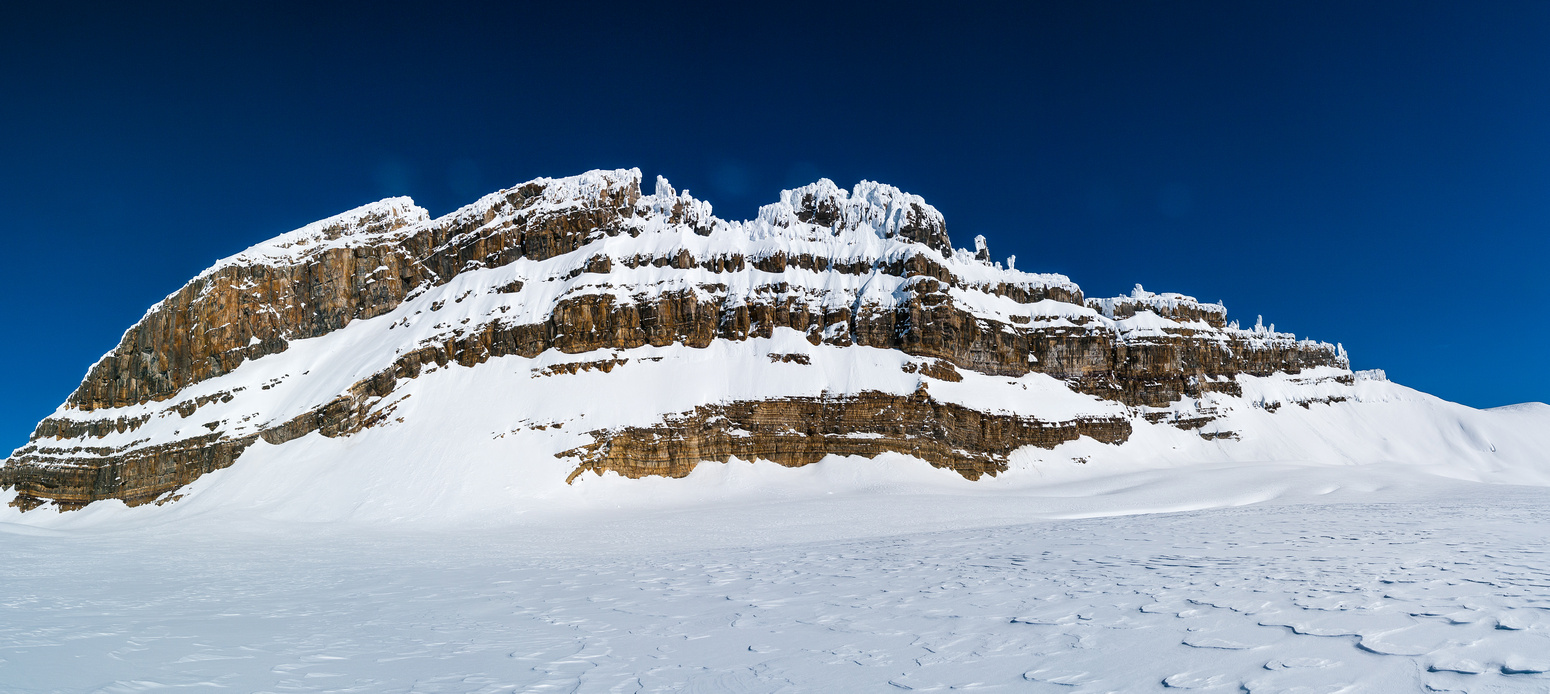 Lilliput's impressive west face belies the easy north ridge route to the summit.