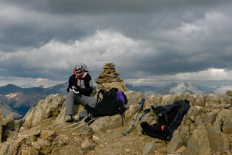 Vern on the summit.