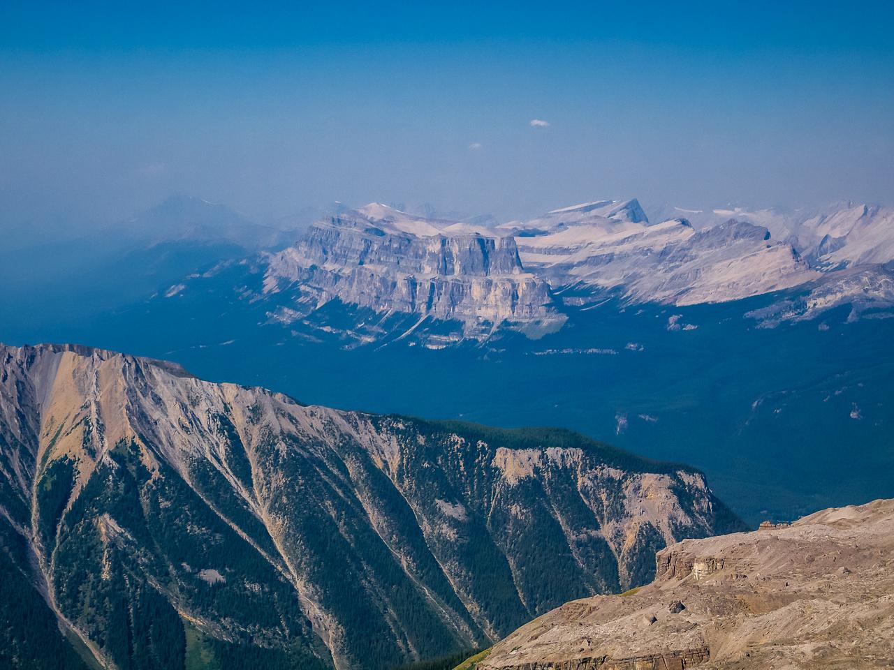 The Castle Mountain massif.