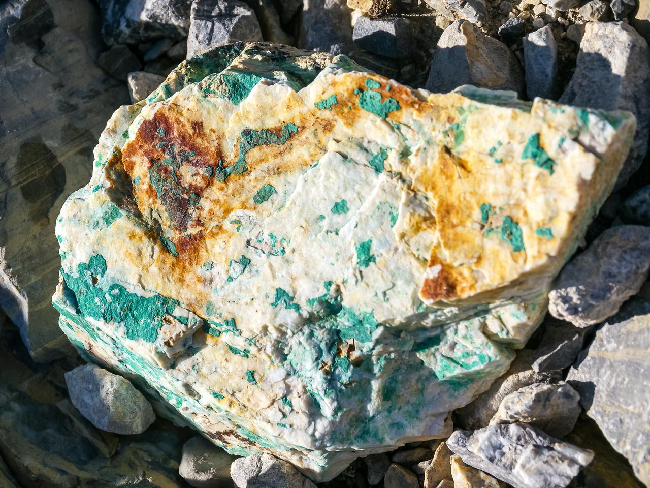 Interesting rock.