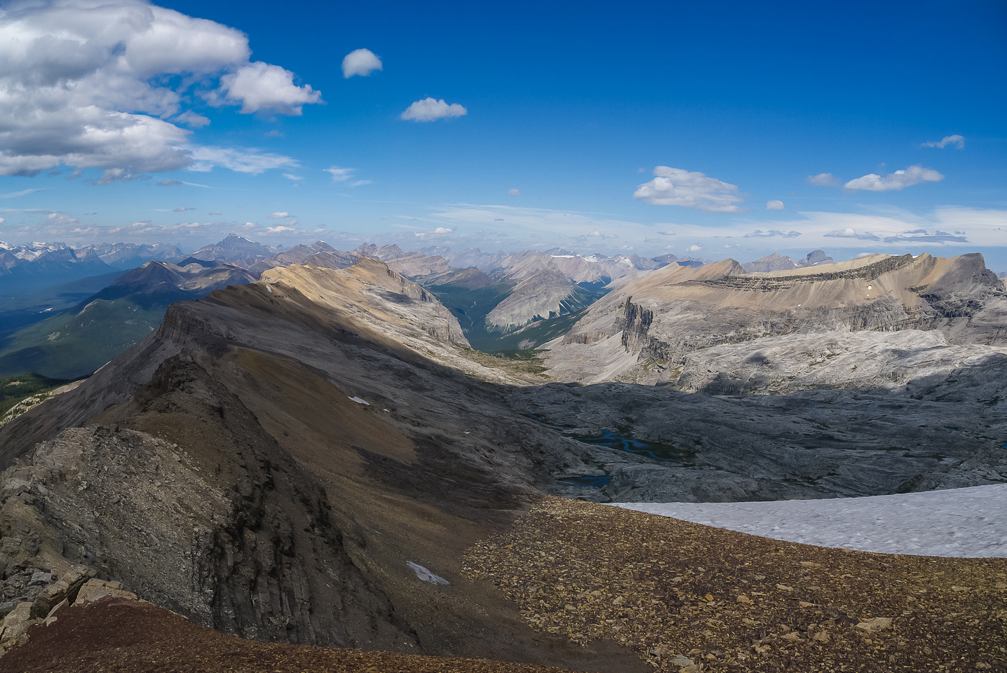 Armor Peak is on the left and Pulsatilla on the right.