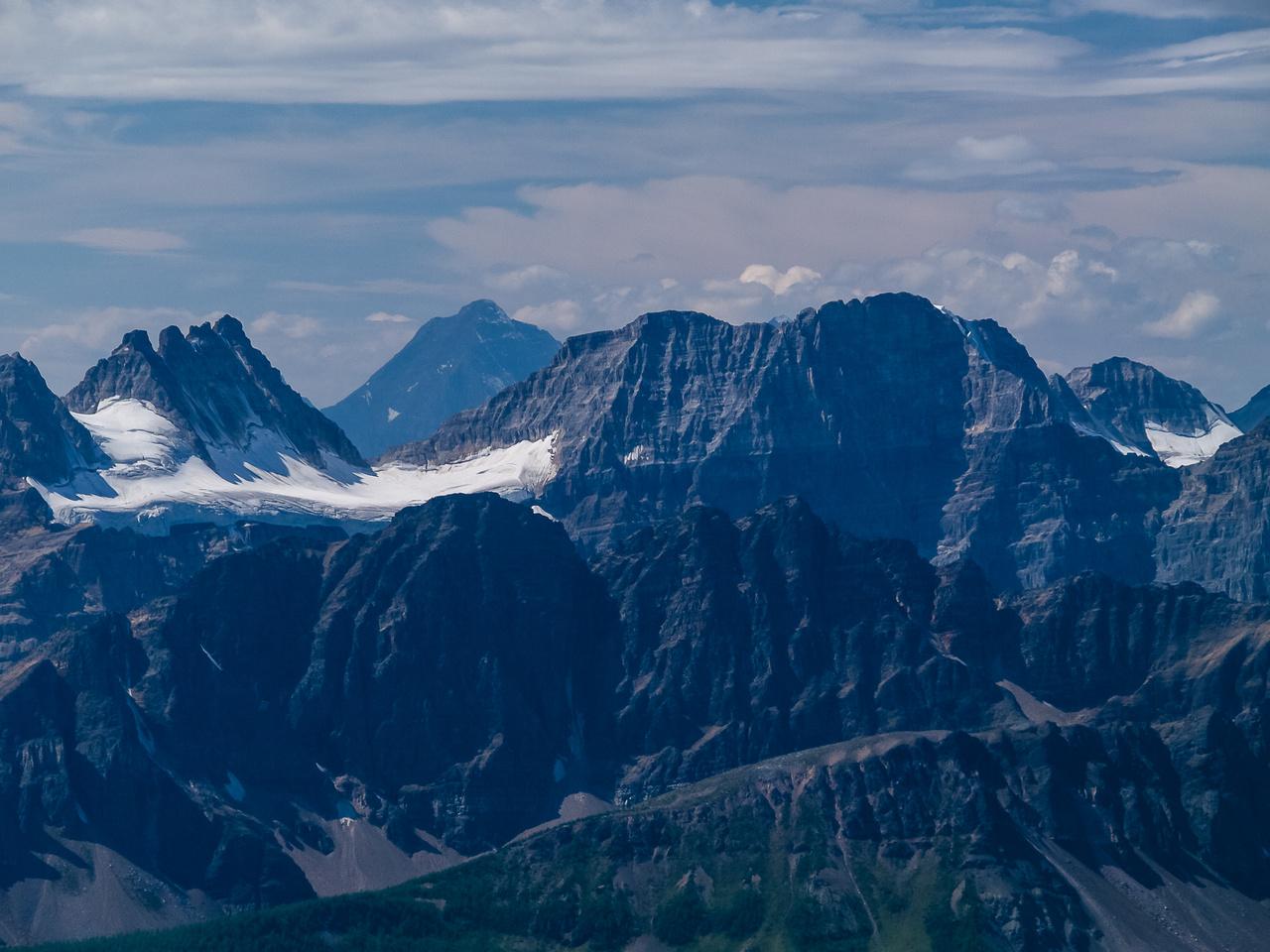 Quadra and Mount Fay (R).