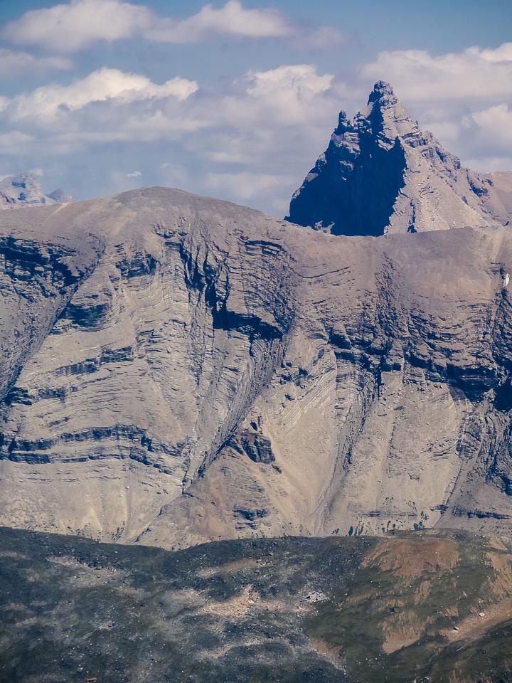 A very impressive view of Recondite Mountain.