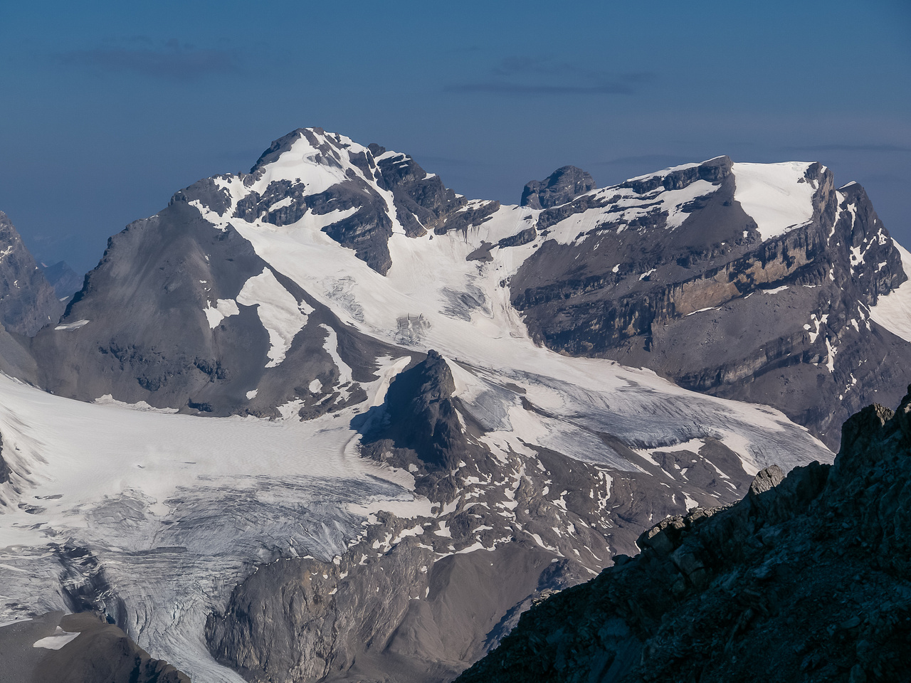 Mount Cirrus (Huntington) is another peak that Eric and I climbed together in 2014.