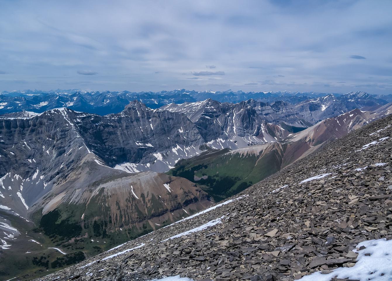 Looking towards Spectral Peak.