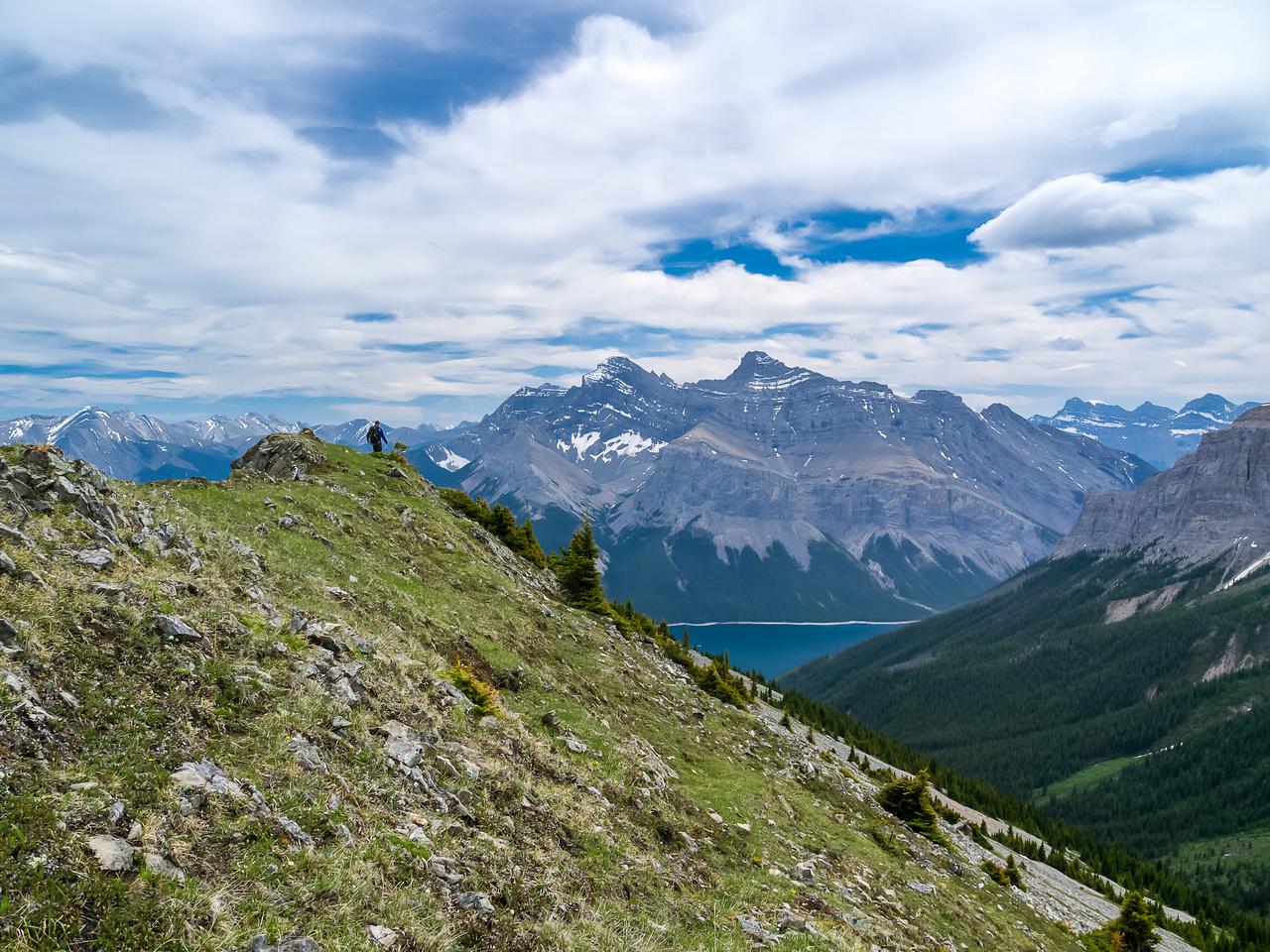 Hiking the Aylmer Lookout Ridge.