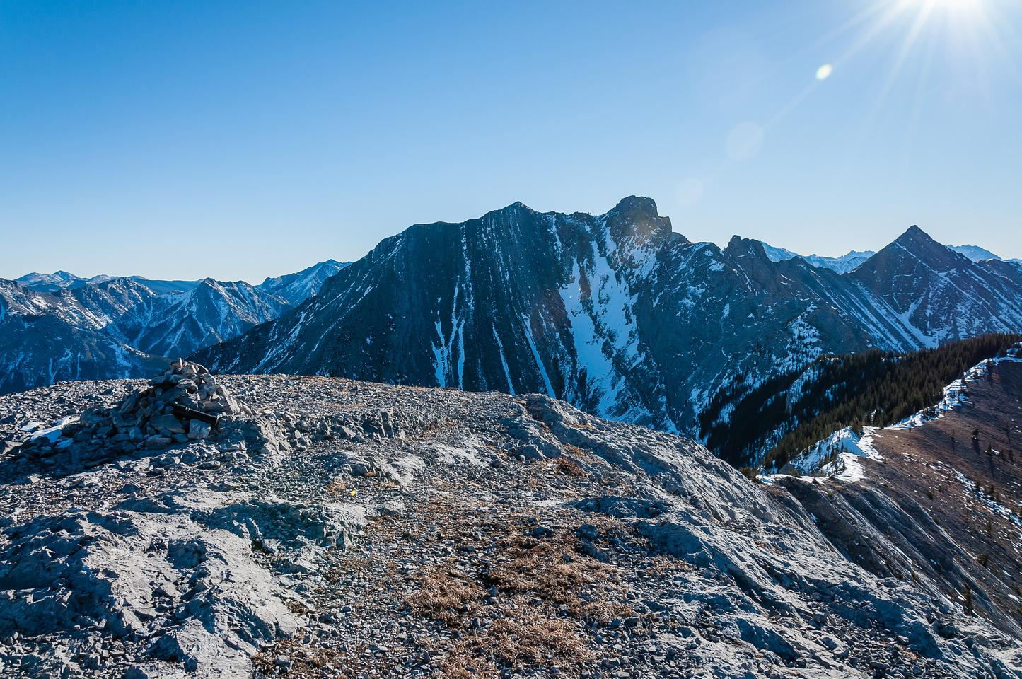 Summit of Grant MacEwan.