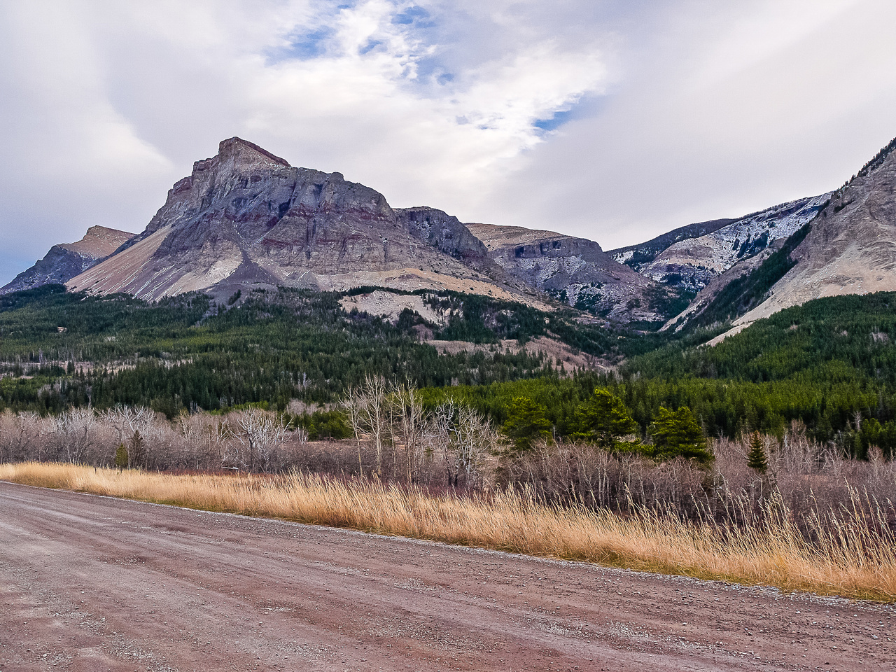 Table Mountain from the Beaver Mines road.