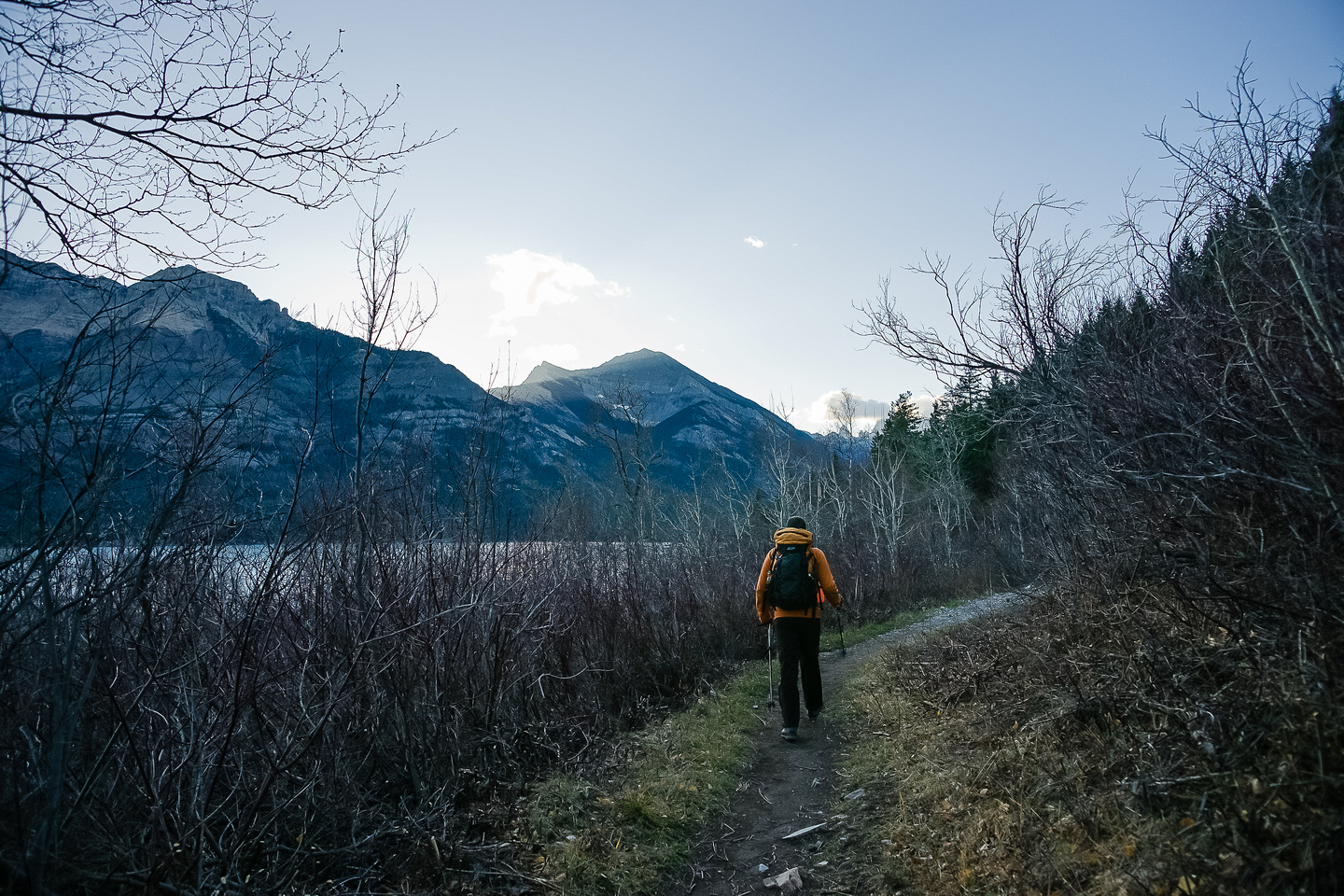 The morning was very warm and pleasant as we made our way up the Bertha Lake trail.
