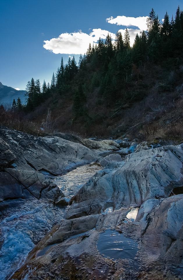 Bertha Creek.