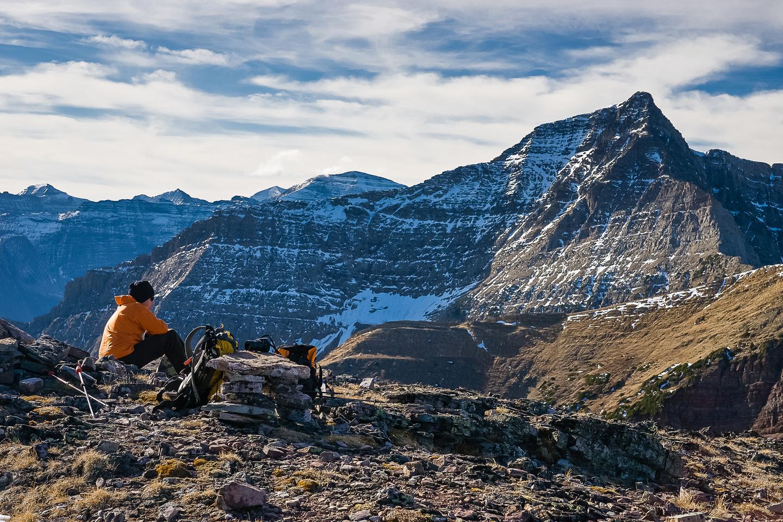 Wietse at the summit.