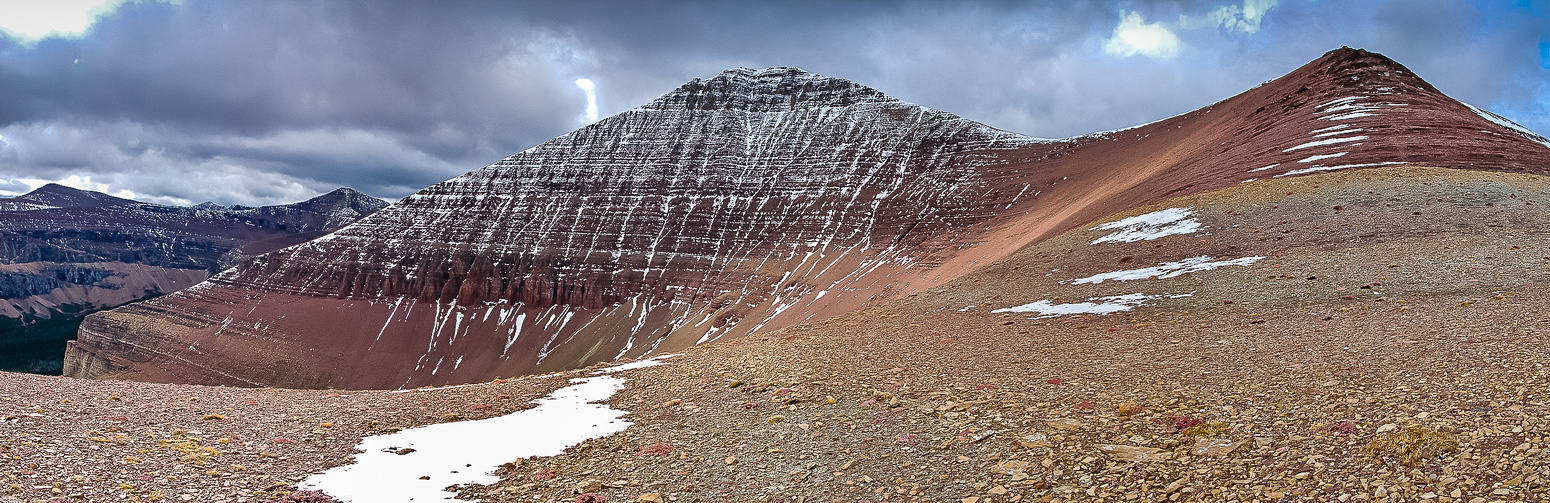 A great view of the NE face of Loaf Mountain.