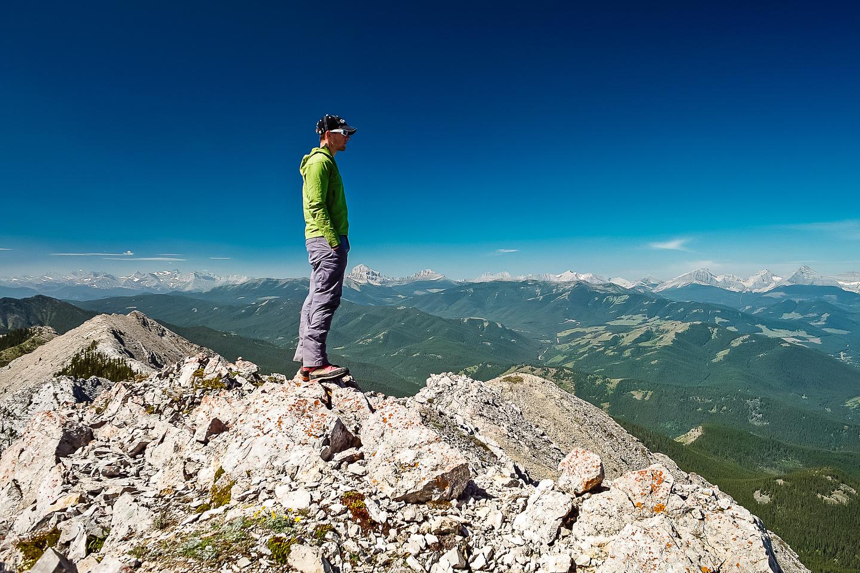 Vern on Thunder Mountain.