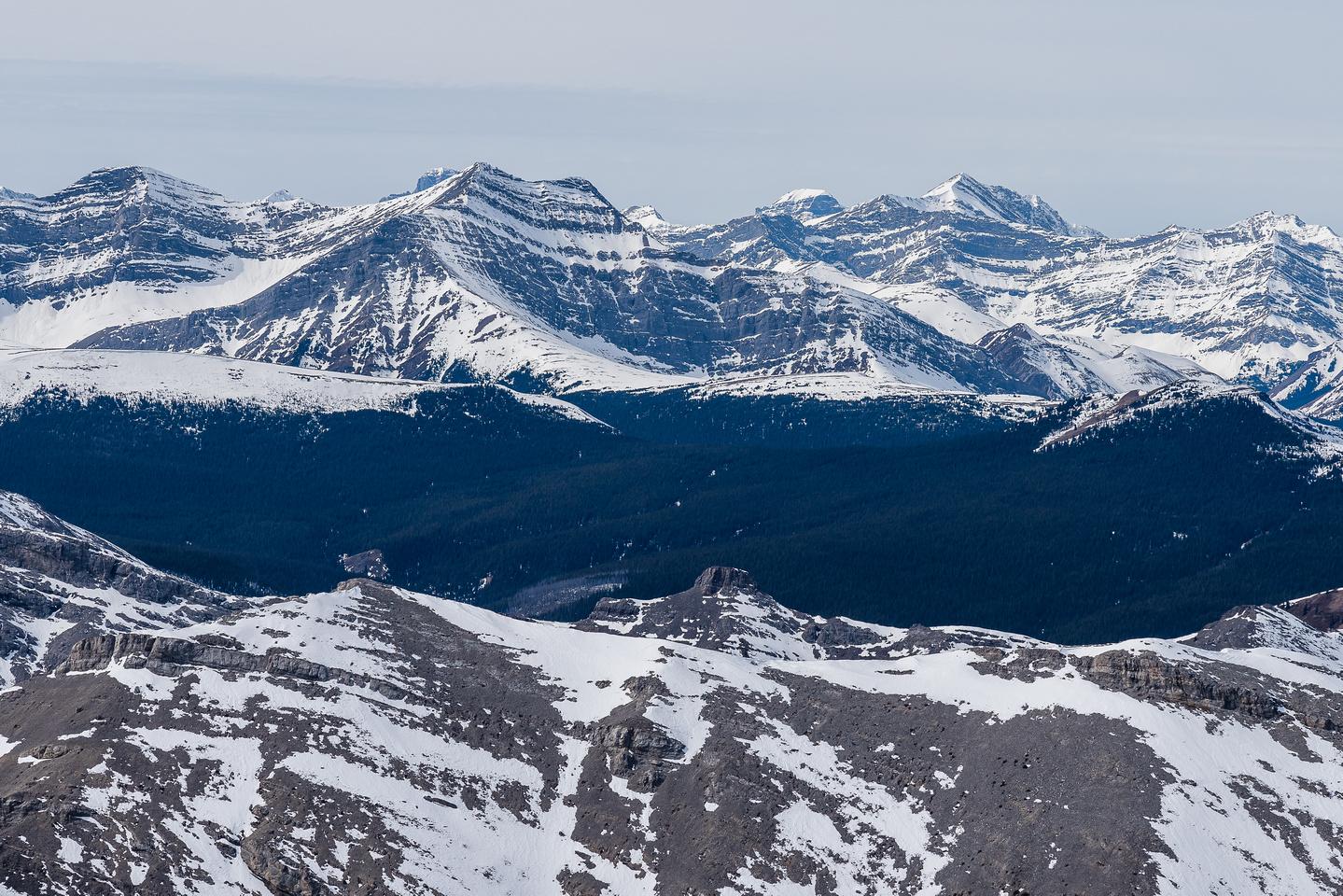Looking far off towards Mount Douglas.