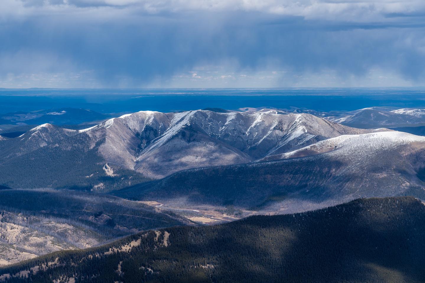 Wildhorse Ridge with Minos at right.