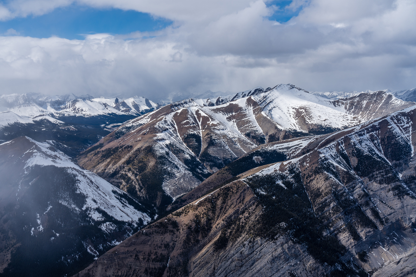 Mount White at distant left with Gable at center foreground.