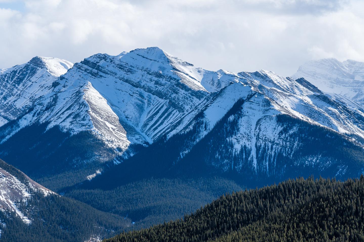 Part of Otuskwan Peak.