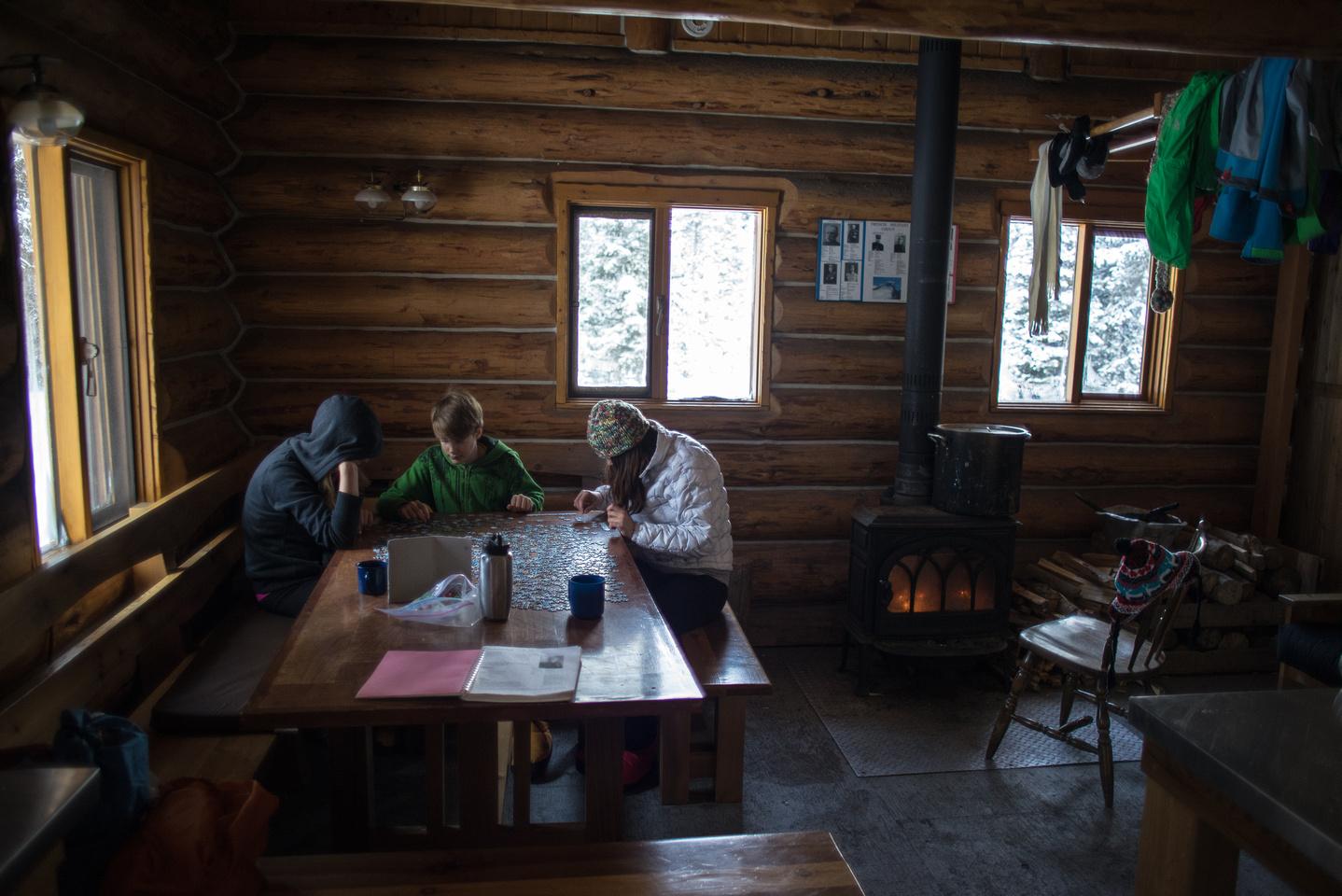 Elk Lakes ACC Hut.
