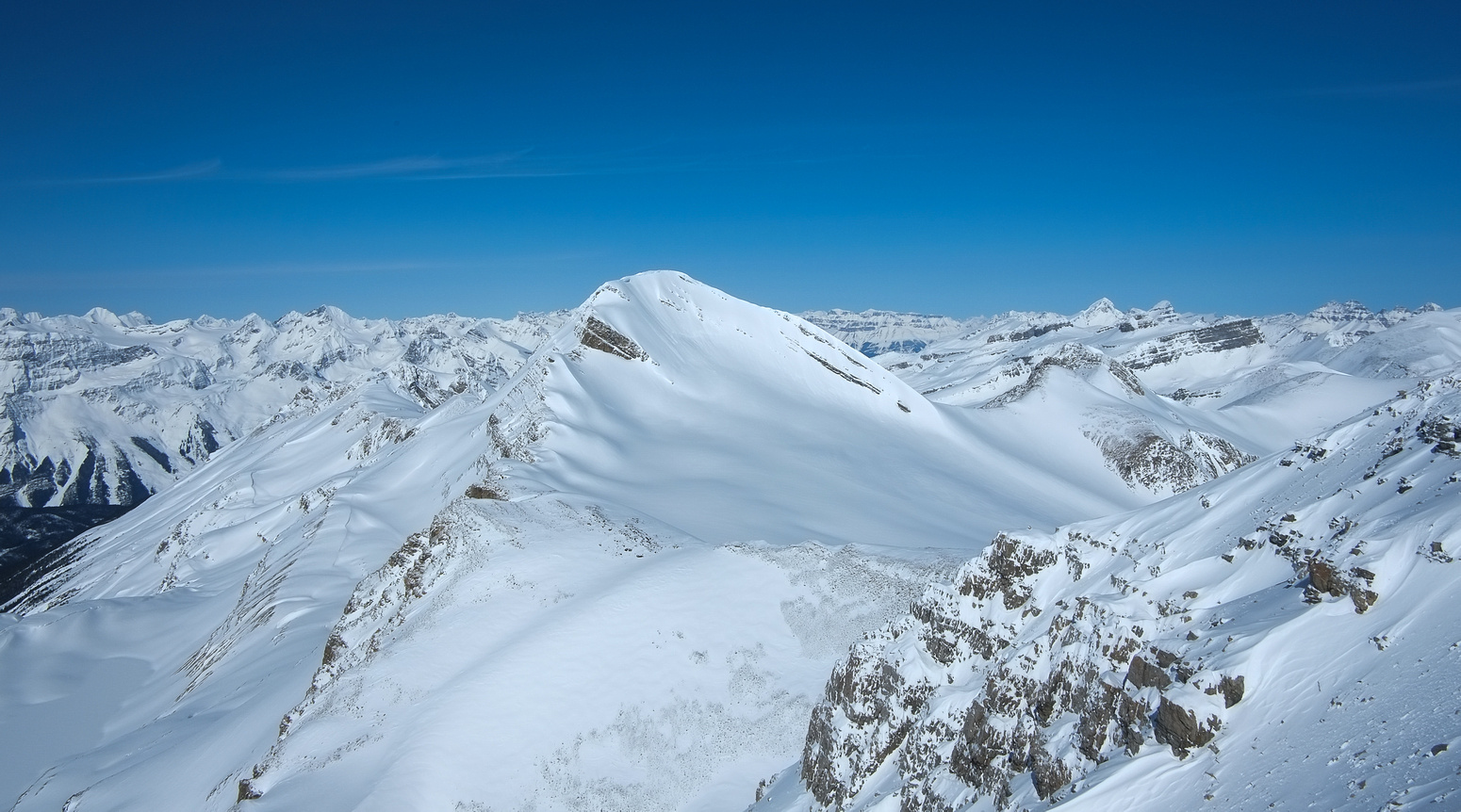 Mount Baker from the summit.