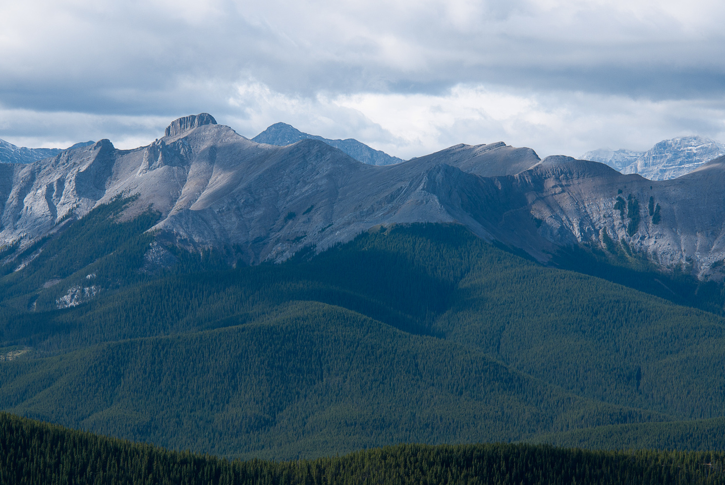 Tiara Peak at left.